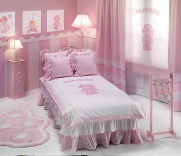 conjunto habitación niña | cortinas salas
