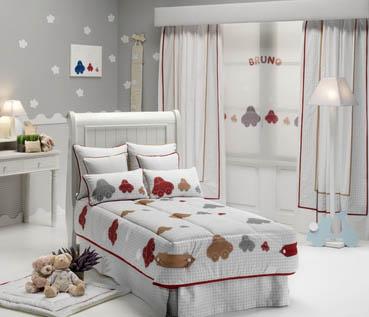 conjunto habitación niño | cortinas salas